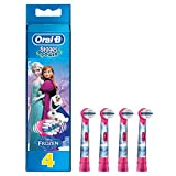 Oral-B Stages Power Frozen Aufsteckbürsten, für Kinder ab 3 Jahren, 4Stück