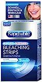Rapid White Bleaching Strips - Hochwirksame Zahnaufhellungs-Methode für sichtbar weißere Zähne nach nur 5 Tagen - 1er Pack (1 x 14 Stück)