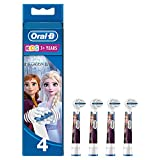Oral-B Kids Disney Frozen Aufsteckbürsten, für Kinder ab 3 Jahren, 4 Stück