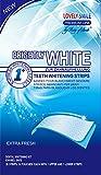 Lovely Smile   28 WHITE-STRIPS Bleaching Stripes Zahnaufhellung-Streifen   mit advanced no-slip technology   Professionelles Bleaching für Weiße Zähne Zahnweiss by Ray of Smile®