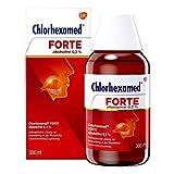 Chlorhexamed Forte Alkoholfrei 0,2 % Mundspüllösung mit Chlorhexidin, 300ml, Antibakterielle Mundspülung bei bakteriell bedingter Zahnfleischentzündung