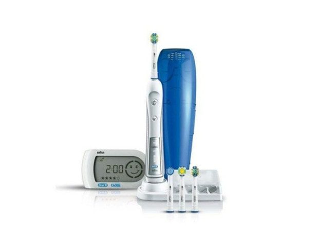 braun oral b triumph 5000 im test dentalwissen. Black Bedroom Furniture Sets. Home Design Ideas