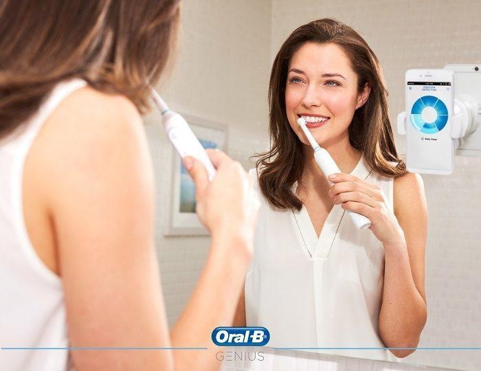 Braun Oral-B GENIUS smartphone halterung
