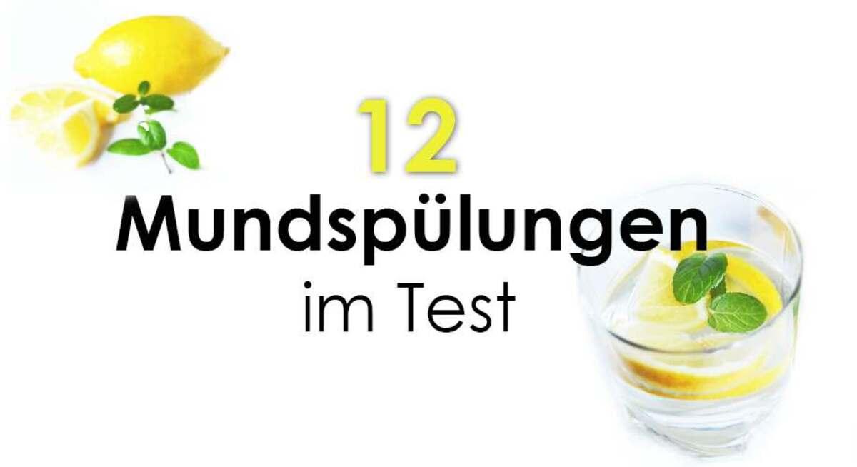 12 Mundspülungen im Test