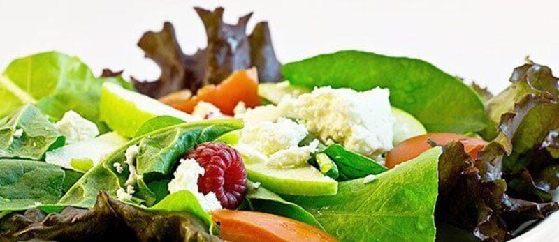 Salat enthält viele Vitamine