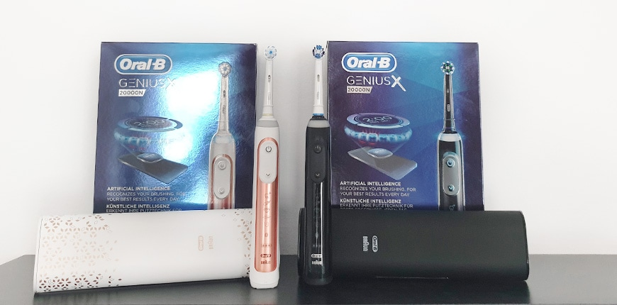 oral-b genius x test