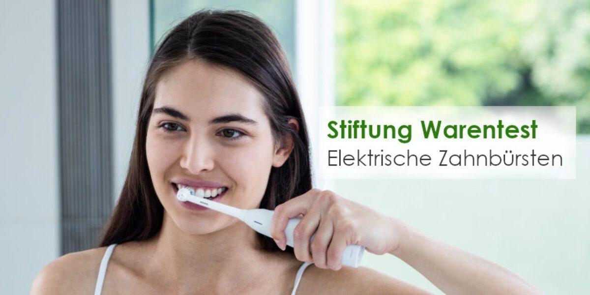 Elektrische Zahnbürsten Stiftung Warentest
