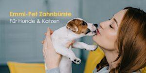 Emmi-Pet Ultraschallzahnbürste für Hunde